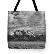 Grand Teton Majesty Tote Bag by Sandra Bronstein