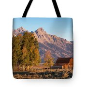 Grand Teton Mountain View Tote Bag