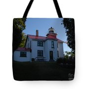 Grand Traverse Light House Tote Bag