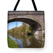 Grand Union Canal Bridge 181 Tote Bag