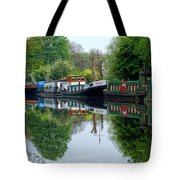 Grand Union Canal Cowley West London Tote Bag