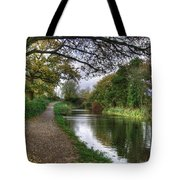 Grand Western Canal At Crown Hill Tote Bag