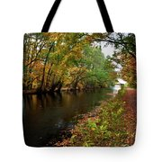 Grand Western Canal At Westcott Tote Bag