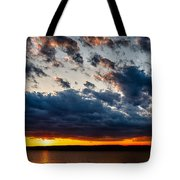 Grandiose Sky On Grand Lake Tote Bag