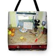 Grandma's Baking Table Tote Bag