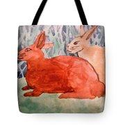 Grandma's Bunnies Tote Bag