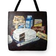 Grandma's Chocolate Cake Tote Bag