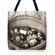 Grandma's Sewing Basket Tote Bag