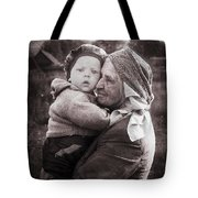 Grandmother And Child Tote Bag