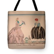 Grandmother And Granddaughter Tote Bag