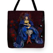 Grandmother Witch Tote Bag