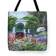Grandmother's Garden Flowers Tote Bag