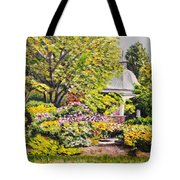 Grandmother's Garden Tote Bag
