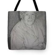 Grandmother's Portrait Tote Bag