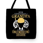 Grandpa Engineer Tote Bag