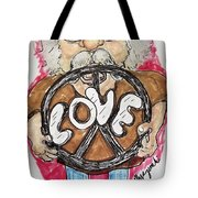Grandpa Hippie Tote Bag