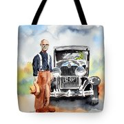 Grandpa's Chevy Tote Bag