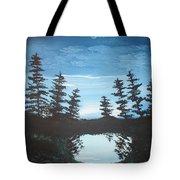 Grandpa's Piney Pond Tote Bag