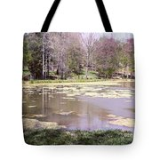 Grandpa's Pond Tote Bag
