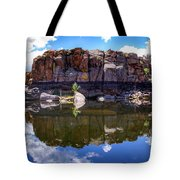 Granite Dells Reflection Tote Bag