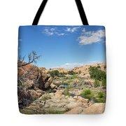 Granite Dells Rocky Terrain  Tote Bag