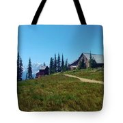 Granite Park Chalet Tote Bag