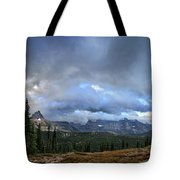 Granite Park Chalet - Glacier National Park Tote Bag