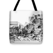 Granite Steps Eagle Lake Sequoia National Park California 2012 Tote Bag