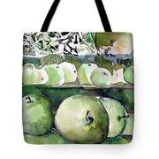 Granny Smith Apples Tote Bag