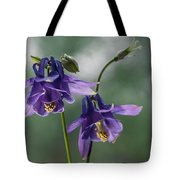 Granny's Purple Bonnet  Tote Bag