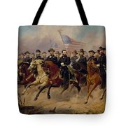 Grant And His Generals Tote Bag by War Is Hell Store