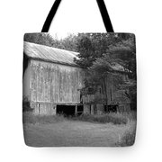 Granville Barn Bw Tote Bag