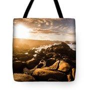 Granville Harbour Tasmania Sunrise Tote Bag