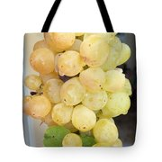 Grape From Chios Mountains In Greece Tote Bag