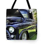 Grape Fully Blown Pickup Tote Bag