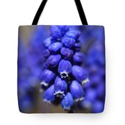 Grape Hyacinth - Muscari Tote Bag
