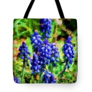 Grape Hyacinths  Tote Bag