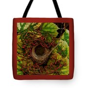 Grape Nest Tote Bag