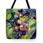 Grape Vine Still Life Tote Bag