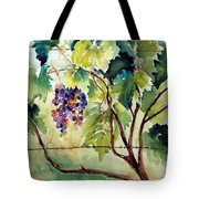Grape Vines At Otter Creek Tote Bag