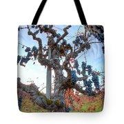 Grapes Aloft Tote Bag