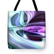 Grapes And Cream Abstract Tote Bag