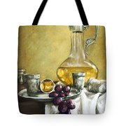 Grapes And Cristals Tote Bag