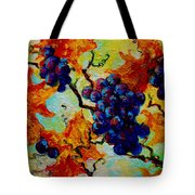 Grapes Mini Tote Bag