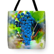 Grapes Of The Vine Tote Bag