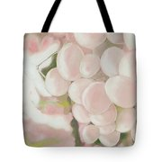 Grapes Powder Pink Tote Bag