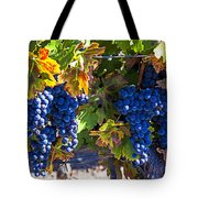 Grapes Ready For Harvest Tote Bag