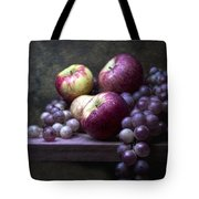 Grapes With Apples Tote Bag