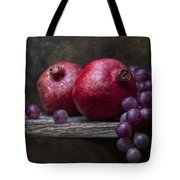 Grapes With Pomegranates Tote Bag
