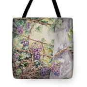 Grapevine Laurel Lakevineyard Tote Bag